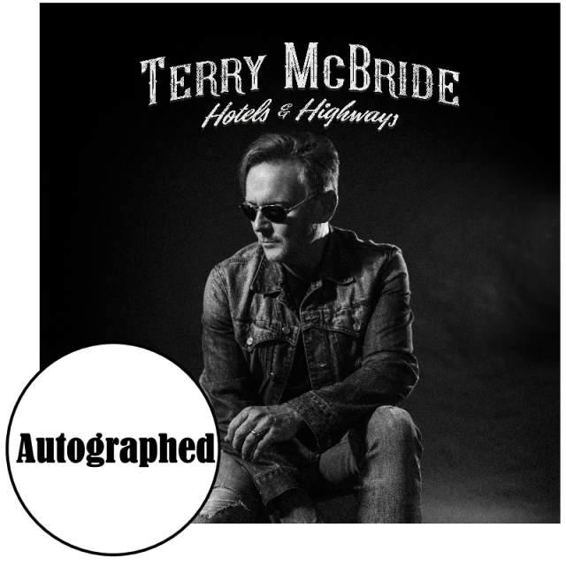 Terry McBride EP- Highways and Hotels-Signed