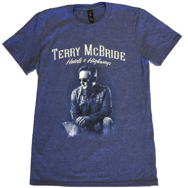 Terry McBride Heather Blue Tee
