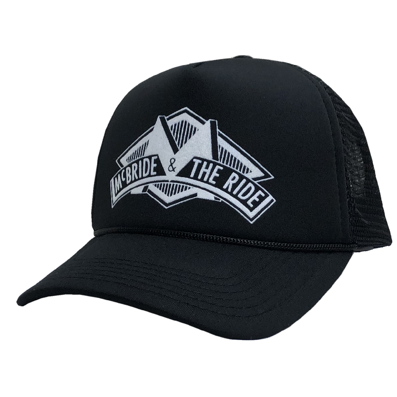 McBride and the Ride Black Trucker Hat