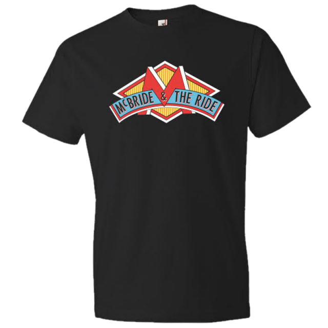 McBride & The Ride Logo Black Tee