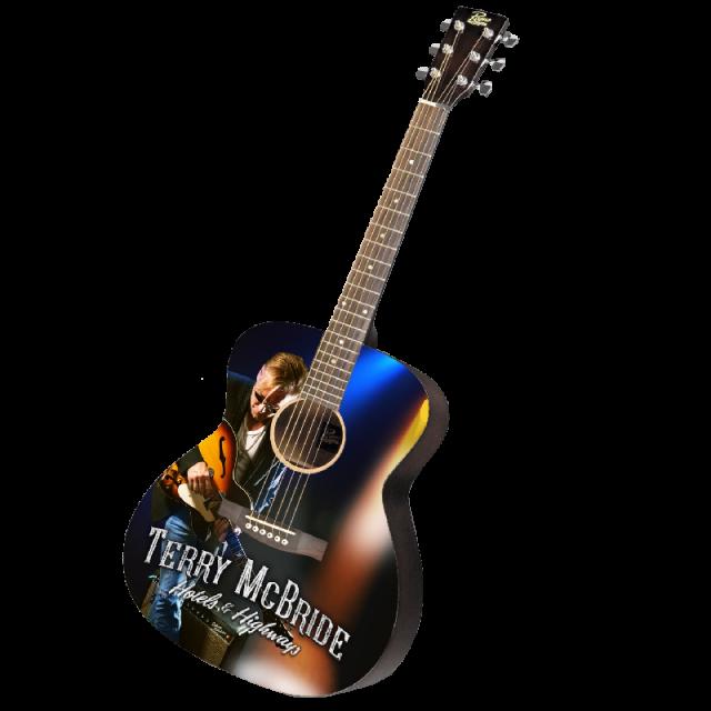 Terry McBride AUTOGRAPHED Acoustic Guitar